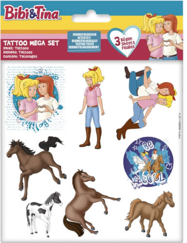 Bibi Tina Tattoo Mega Set 59174 Jetzt Kaufen Online Vor Ort