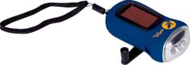 Dynamo-Taschenlampe Nature Zoom (blau)