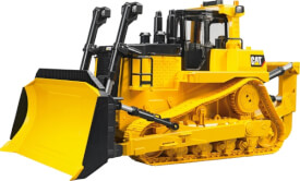 Bruder 02452 CAT großer Kettendozer, ab 4 Jahren, Maße: 54 x 28,5 x 27 cm, Kunststoff