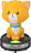 Mattel GMX70 Fisher-Price Krabbel mir nach - Saugroboter-Katze