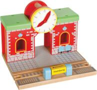 SpielMaus Holz Bahnhof mit Sound