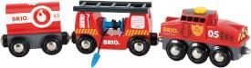 BRIO 63384400 Feuerwehr-Löschzug