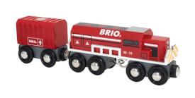 BRIO Roter Frachtzug (Spec.E19)D