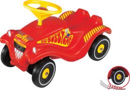 BIG Bobbycar Feuerwehr mit Flüsterreifen