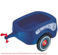 BIG Bobby-Car-Trailer, Kunststoff, bis 25 kg, ca. 50x24x29 cm, royalblau, ab 3 Jahre