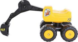 Sitzbagger Mobby Dig 100 kg, Kunststoff, ab 36 Monate - 6 Jahre
