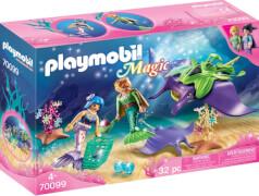 PLAYMOBIL 70099 Perlensammler mit Rochen