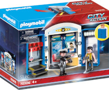 PLAYMOBIL 70306 Spielbox ''In der Polizeistation''