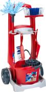 Theo Klein 6741 - VILEDA Besenwagen, Spielzeug, ca. 24x60x29 cm, ab 3 Jahren