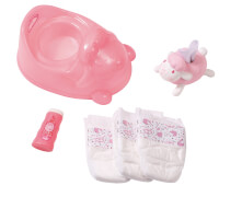 Zapf Baby Annabell®  Töpfchen Training Set, ab 3 Jahren, pink