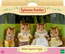 Sylvanian Families  4172 Walnuss Eichhörnchen Familie