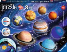 Ravensburger 116683 Puzzleball Planetensystem 522Teile