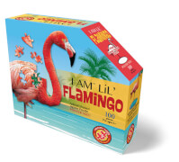 Puzzle Shape Junior Flamingo 100 Teile