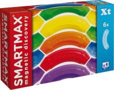 SmartMax Kurven 6 Stück - Magnetspiel Zubehör