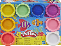 Hasbro E5062ES1 Play-Doh 8 PACK RAINBOW