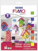Filly FIMO soft Grundkasten 9 Blöcke á 25 g