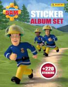 Feuerwehrmann Sam - Sticker-Album-Set