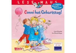 Lesemaus - Band 92: Conni hat Geburtstag!, Taschenbuch, 24 Seiten, ab 3 Jahren