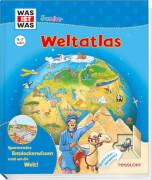 WAS IST WAS Junior Weltatlas, Gebundene Ausgabe, 26 Seiten, ab 4 Jahren