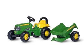 rollyKid Traktor John Deere mit Kipper