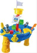 Sand- und Wassertisch Piratenschiff