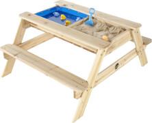 25078 Plum Holztisch mit Sandkasten und Wasserbecken