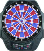 CARROMCO ELEKTRONIK DARTBOARD MIRAGE-301, MIT ADAPTER, 2-LOCH ABSTAND
