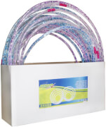 Outdoor active Hula Hoop mit LED, #66-82 cm