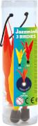 Jazzminton Birdies 3er-Pack Ersatzbälle