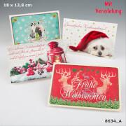 Depesche 8634 Klappkarten Weihnachten X-MAS  Dreams