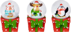 Mini-Schneekugel Weihnachtsgeschenke für Kinder, sortiert nicht frei wählbar