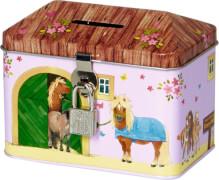 Spardose Mein kleiner Ponyhof (Ponystall)