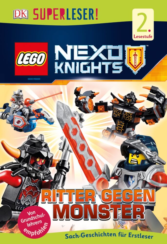 Monster I SuperLego KnightsKnight Against Nexo 46703104 lettori iPukZTOX